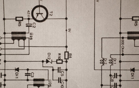Schematic Calrec Amplifier Component Values