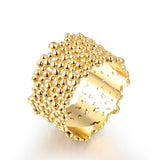 Gold Plated Rings For Women Gift New Fashion Jewelry