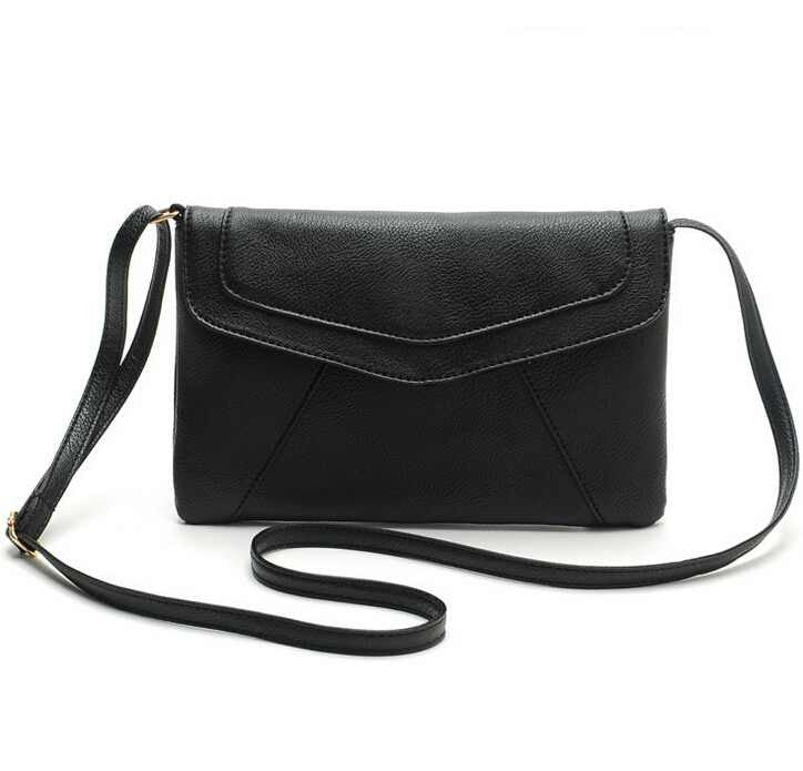 New Fashion Women Envelope Bag PU Leather