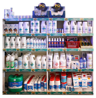 Spa Maintenance Chemicals