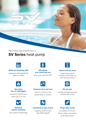 Spa Net 8.8Kw Heat Pump