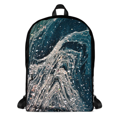 Backpack - Abstract - Blue - 506 Apparel