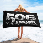 Towel - White/Black - 506 Apparel