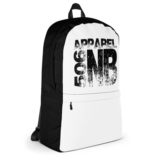 Backpack - NB - Black/White - 506 Apparel