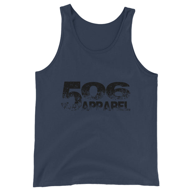 Unisex  Tank Top - Black - 506 Apparel