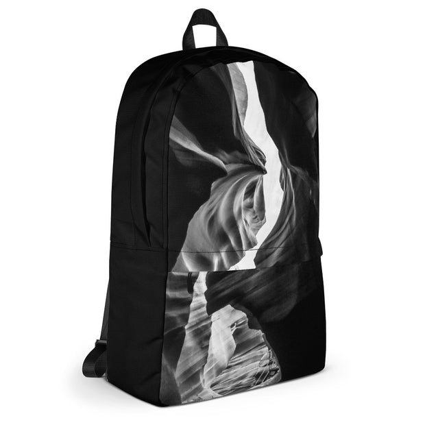 Backpack - Abstract - White/Black - 506 Apparel