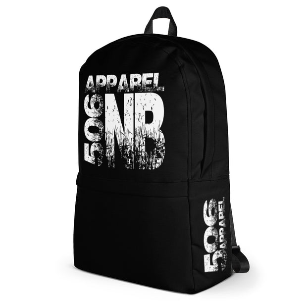 Backpack - NB - White/Black - 506 Apparel