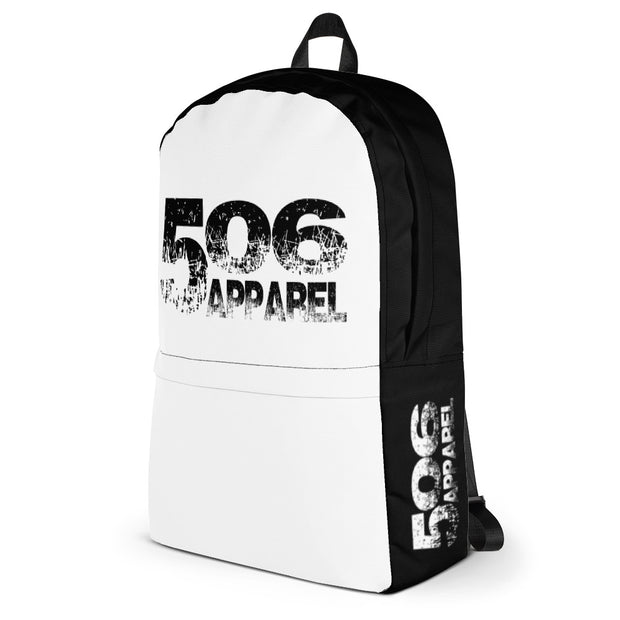 Backpack - Black/White - 506 Apparel