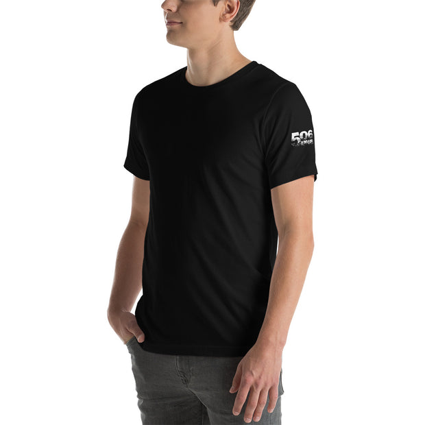 Short-Sleeve Unisex T-Shirt - Plain - White - 506 Apparel