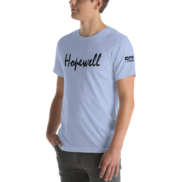 Short-Sleeve Unisex T-Shirt - Hopewell - Black - 506 Apparel
