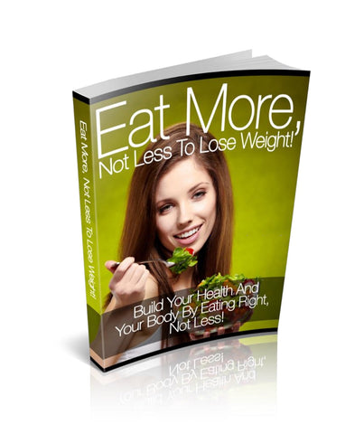 Eat More, Not Less To Lose Weight! - Wolf Clan Fitness