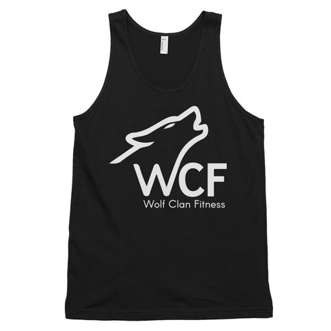 Howling Wolf 2 Tank Top (unisex) - Wolf Clan Fitness