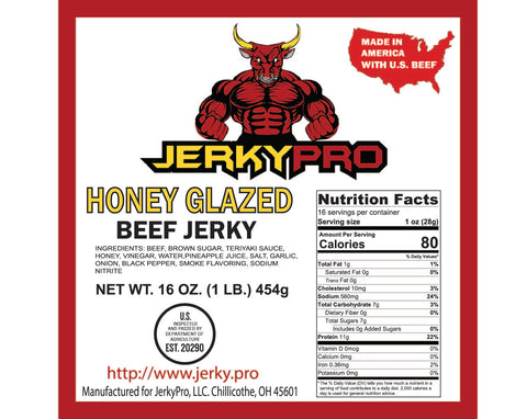 Shredded One Pound JerkyPro