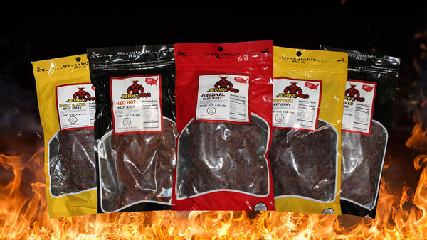 4 POUND JERKY BUNDLE - + FREE SHIPPING