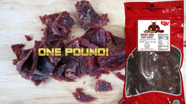 One Pound JerkyPro Sweet BBQ