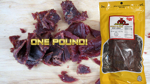 One Pound JerkyPro Honey Glazed