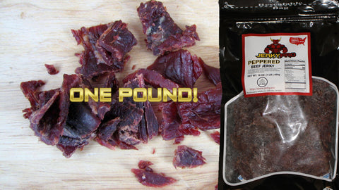 One Pound JerkyPro Peppered