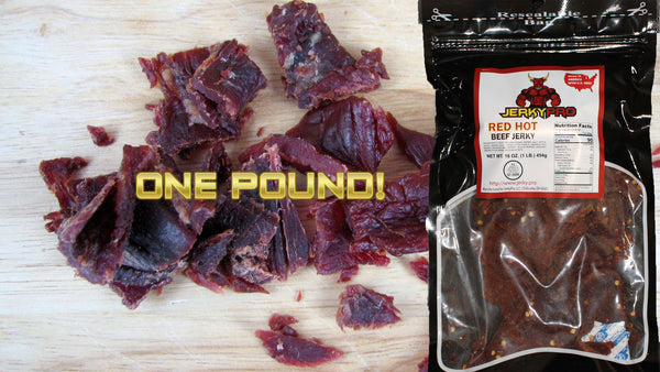 One Pound JerkyPro Red Hot