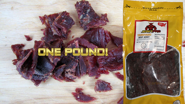 One Pound JerkyPro Teriyaki