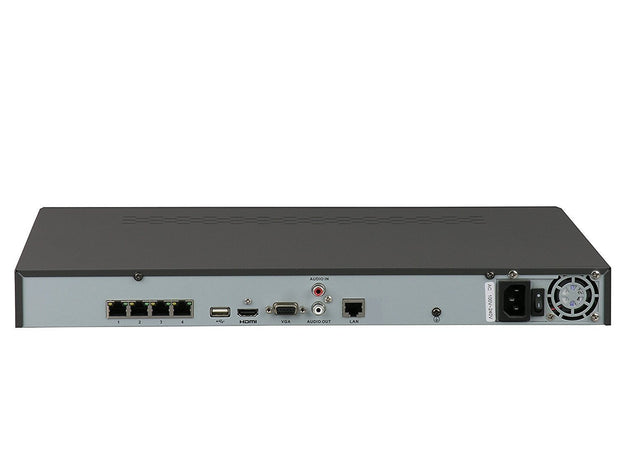 Hikvision 4-Channel NVR w/ 4 x POE