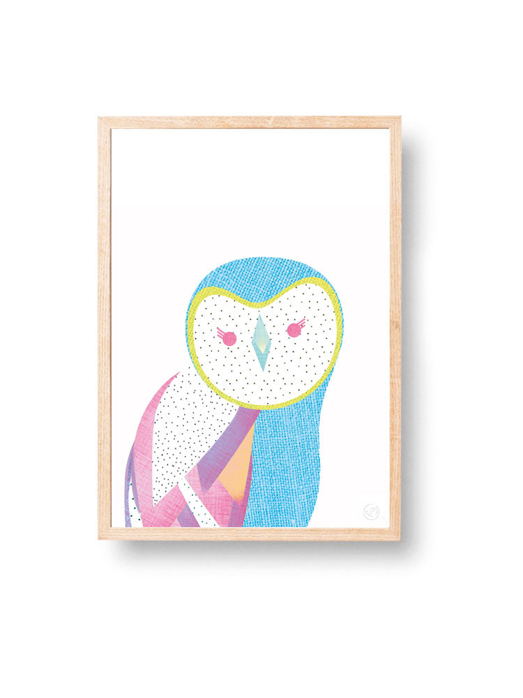 Mr Owl | Art Print