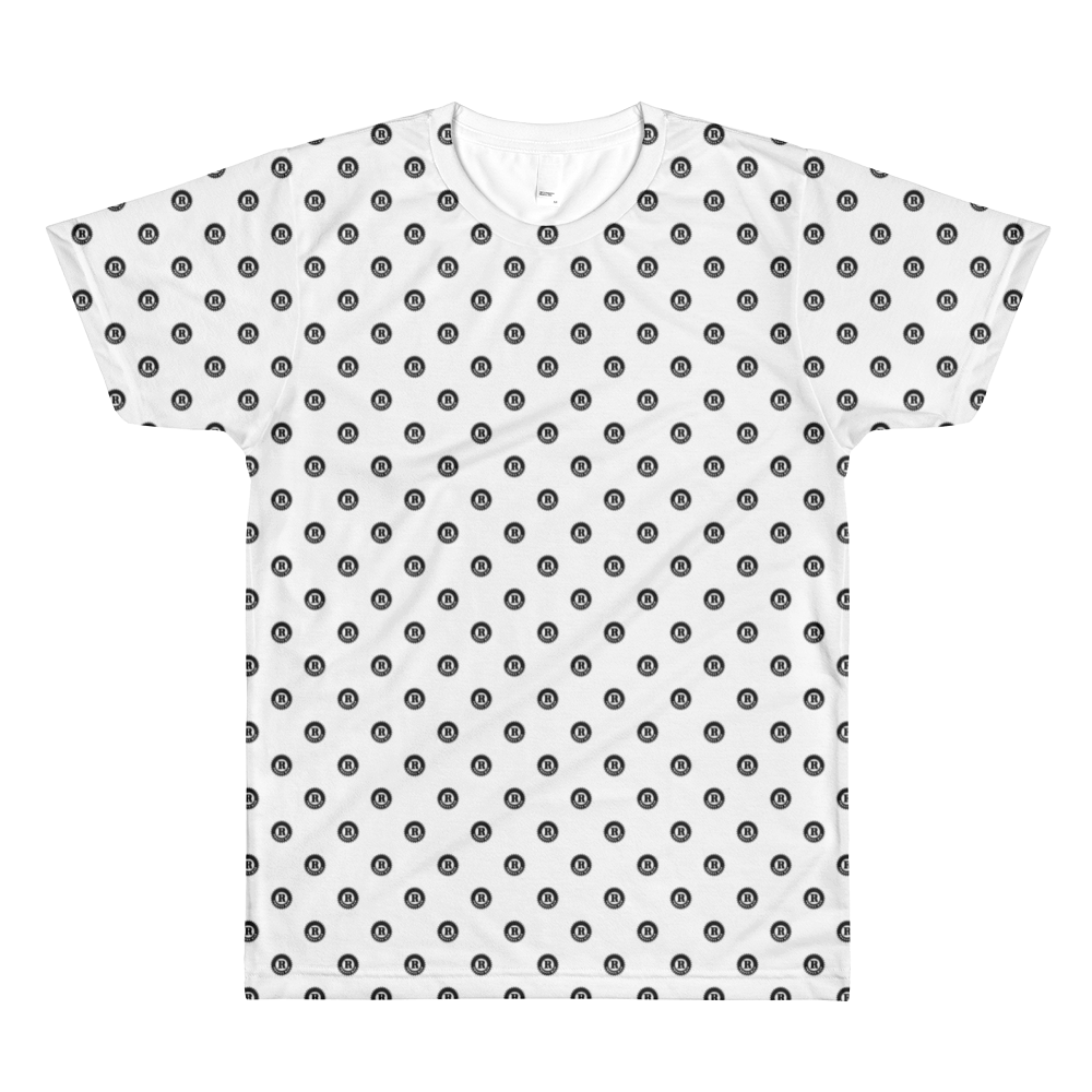Pretty Rad Medallion Pattern All-Over Printed T-Shirt