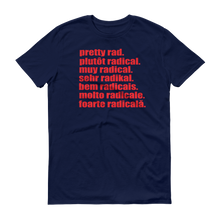 Pretty Rad Languages - Red Print - Short-Sleeve T-Shirt