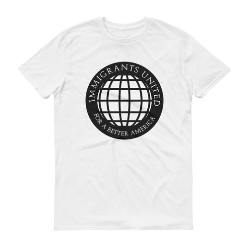 Immigrants United For A Better America Black Print - Short-Sleeve T-Shirt