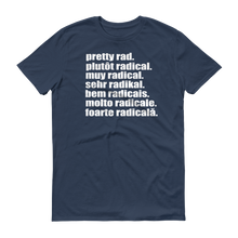 Pretty Rad Languages - White Print - Short-Sleeve T-Shirt