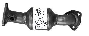 Royal Exhaust 43153 Front P/Side Nissan (2000-2002) Xterra 3.3L, (1999-2002) Frontier 3.3L Catalytic Converter OBDII Direct Fit