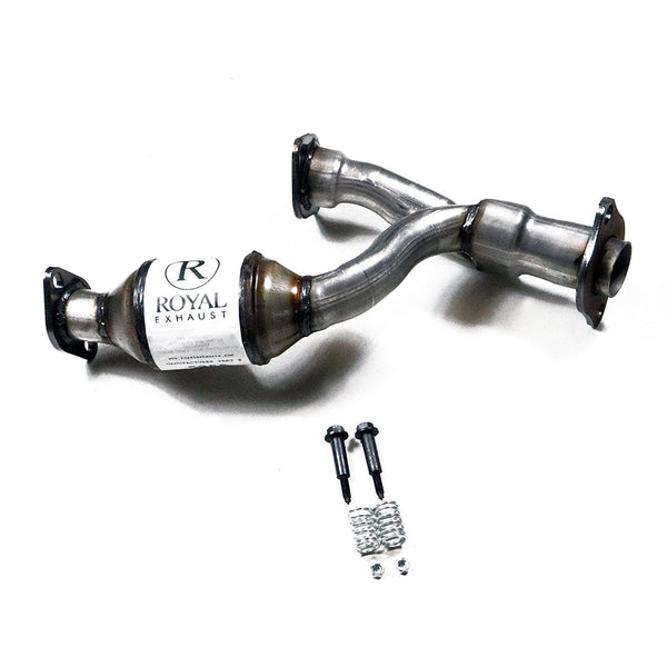 Royal Exhaust 5255 Y-Pipe 3.0L Lexus RX300 (1999-2003) DOHC, Toyota Highlander (2001-2003) Catalytic Converter OBDII Direct Fit