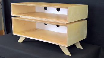 The Design and Build Process: TV Stand