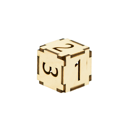 The Standard Numeral - Dice with Selectable Faces