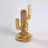 Saguaro Cactus Wood Model View 2