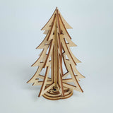 Fir Tree Wood Model Kit