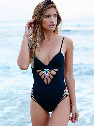 Anabelle Cutout One Piece Swimsuit