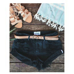 'Jeana' Vintage Denim Shorts