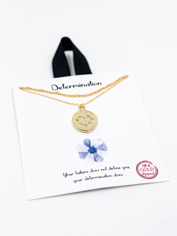 Determination Layered Necklace