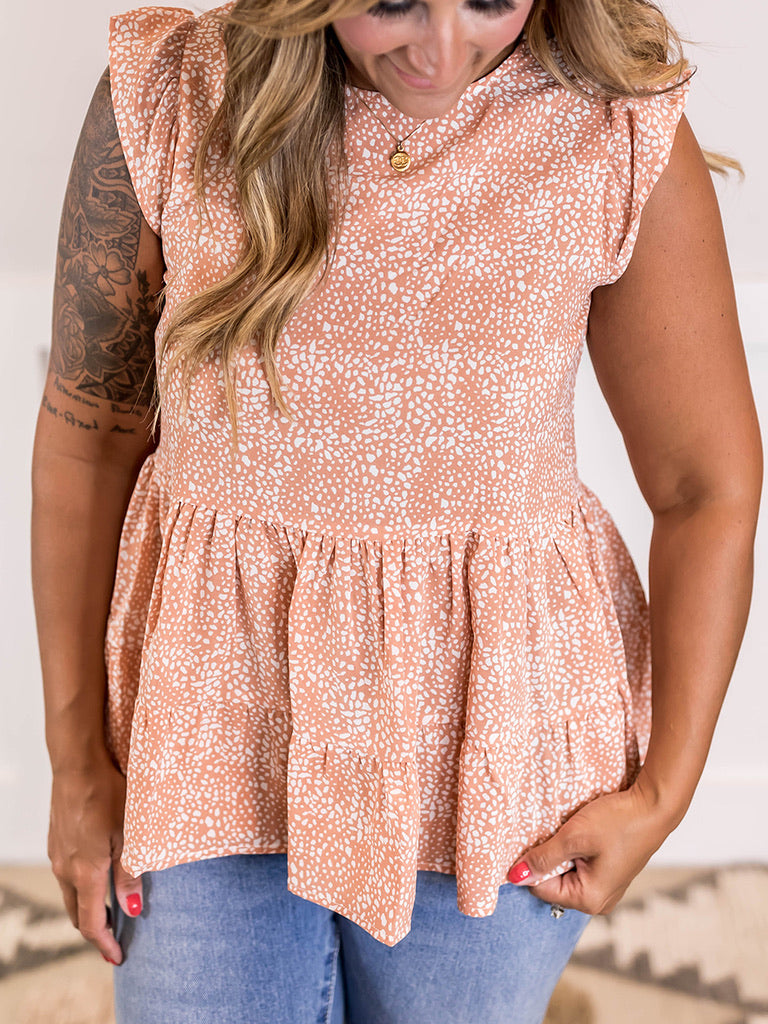 Cate Babydoll Blouse
