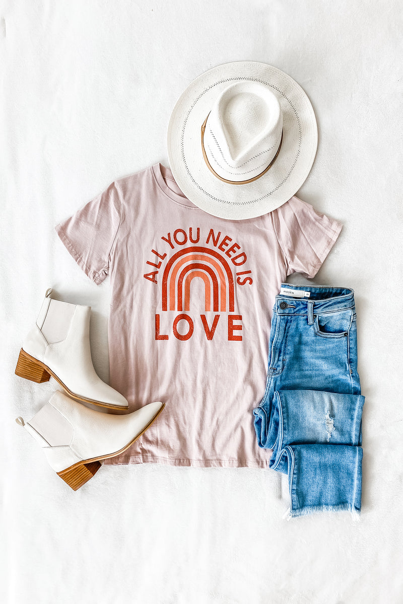 """All You Need Is Love"" Graphic Tee"