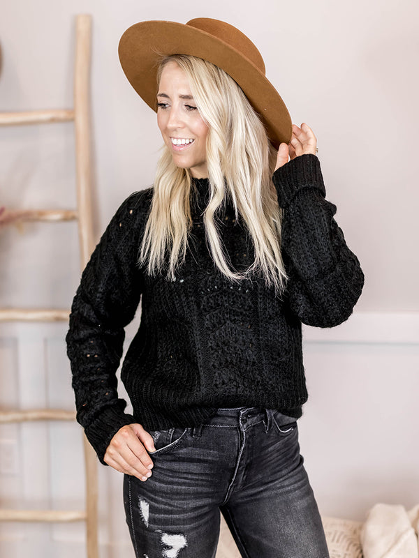 Gabby Cable Knit Sweater