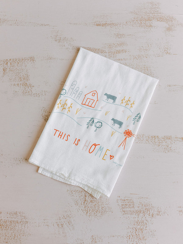THIS IS HOME FLOUR SACK TOWEL
