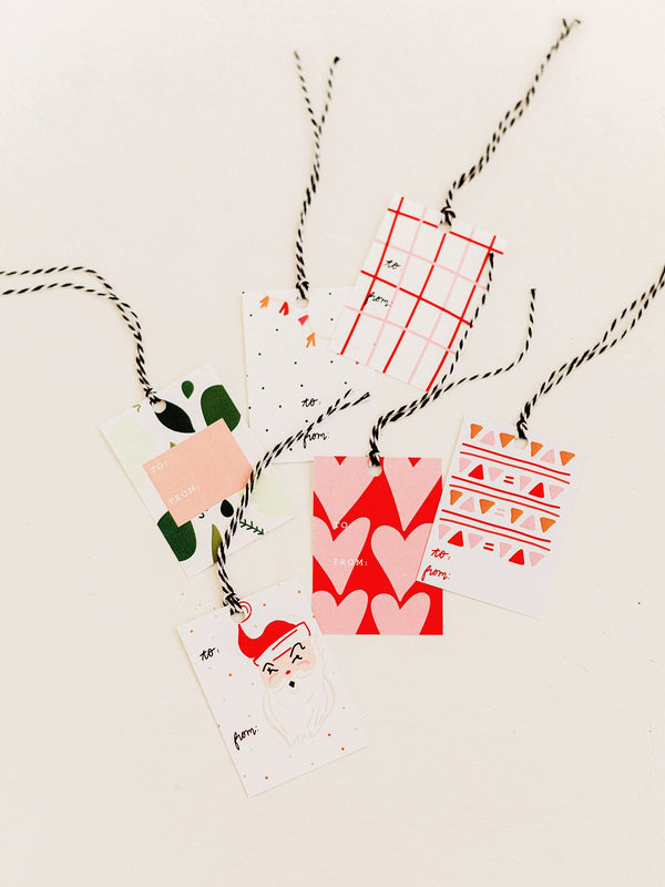 HOLIDAY GIFT TAGS - SET OF 10