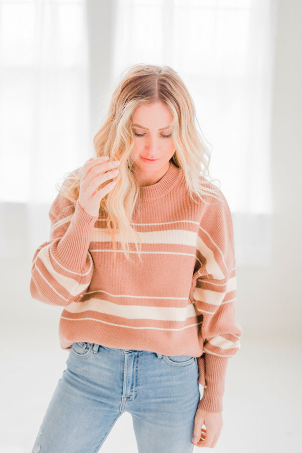 Penn Oversized Stripe Sweater