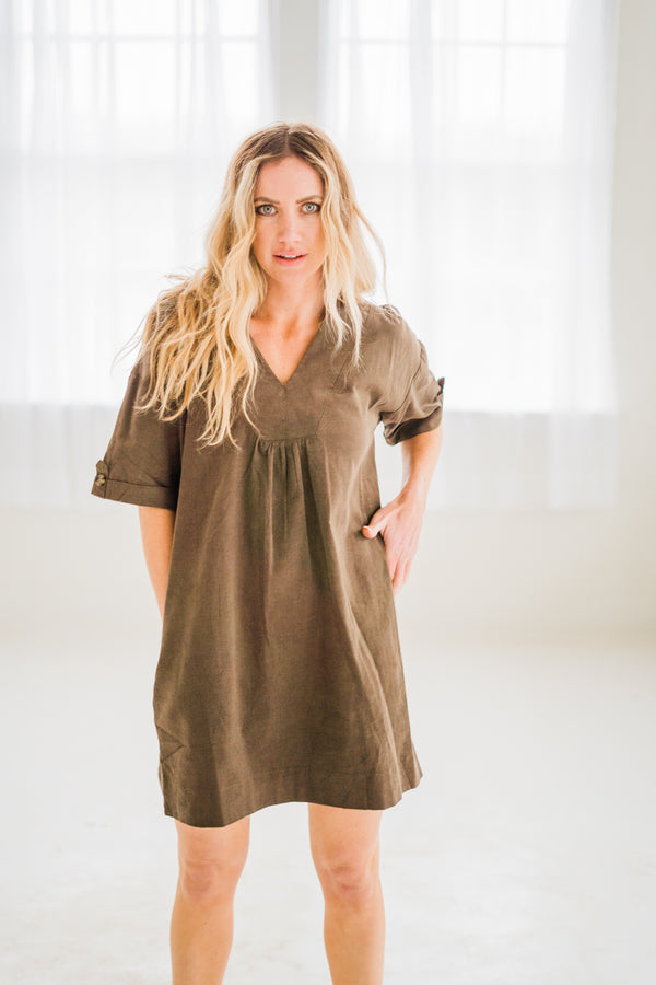 Jenni Corduroy Dress