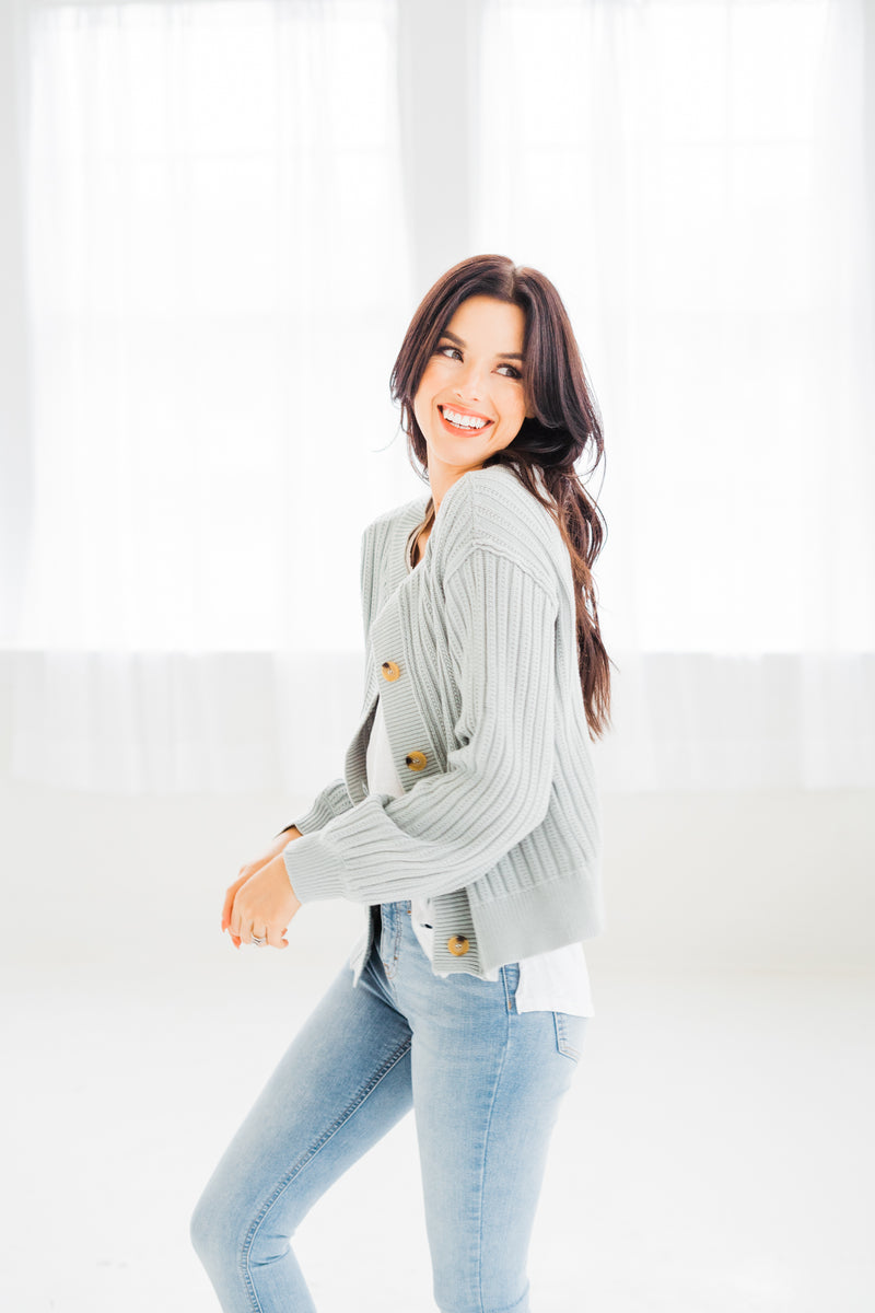 Everly Ribbed Cardigan