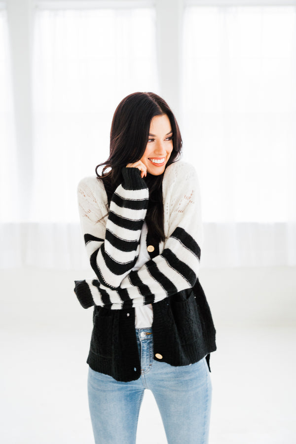 Mason Button Cardigan