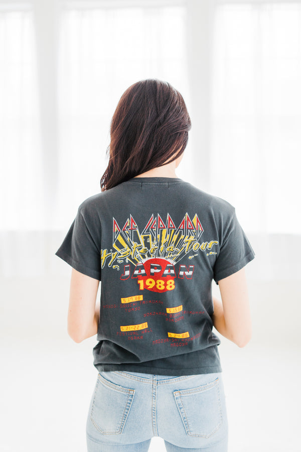 Def Leppard Japan '88 Tour Tee