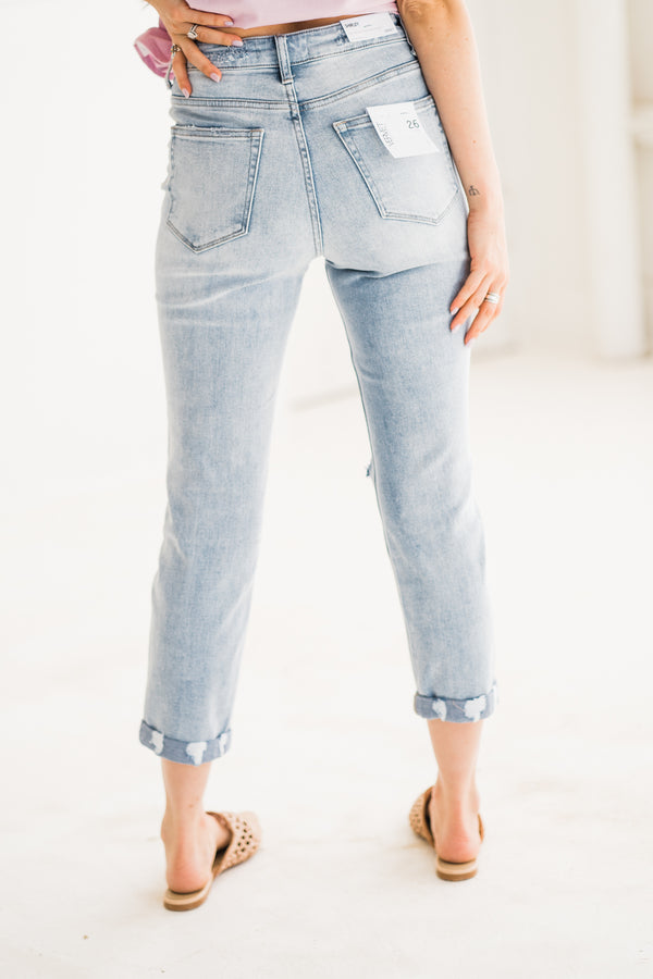 Shirley Slim Straight Denim