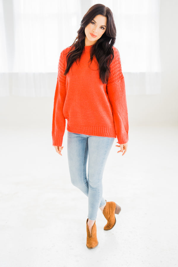 Feelin' The Love Knit Sweater